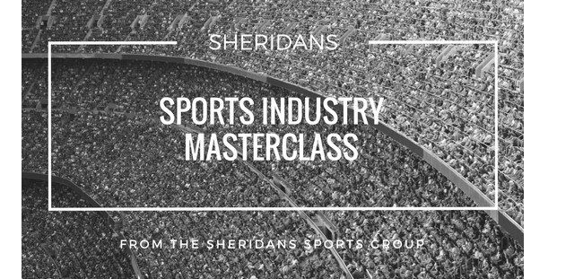 Sheridans Sports Industry Masterclass