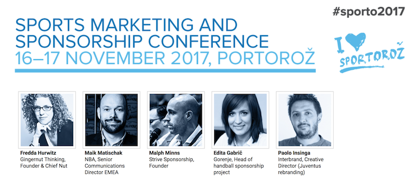 Strive MD, Malph Minns, to speak at Sporto 2017