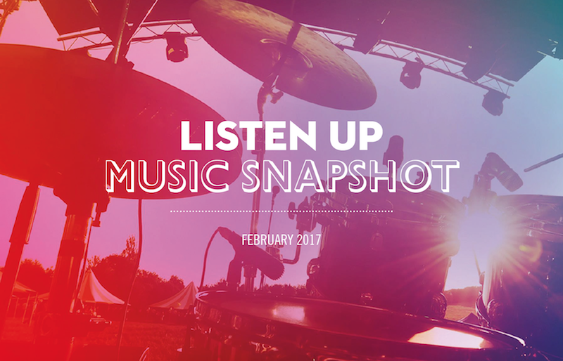 Listen Up – Music Snapshot 2017