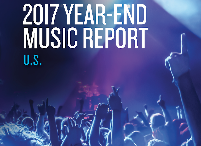 Nielsen US year-end music report 2017
