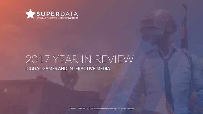 SuperData 2017 year in review – digital games and interactive media