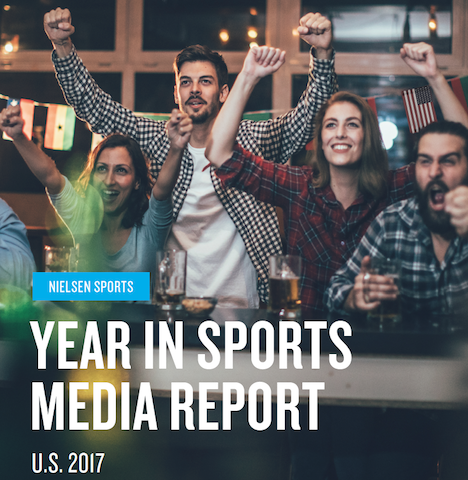 Year in US Sports Media Report 2017