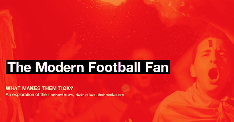 The modern football fan's behaviours, values and motivations