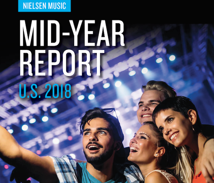 US Mid-year Music Industry Report 2018