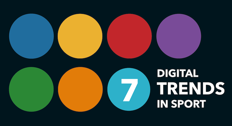 The top seven digital trends in sport report 2019
