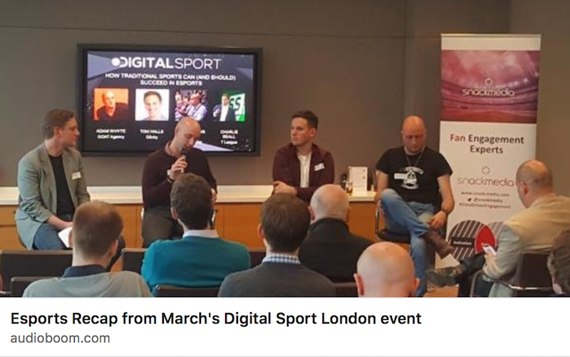 Digital Sport esports podcast – why, and how, traditional sports are entering esports