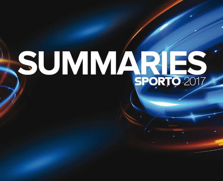 SPORTO 2017 conference: summaries of presentations and panel discussions
