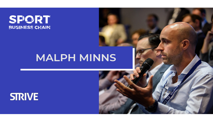 Malph Minns speaks at Sports Business Chain Conference 2018