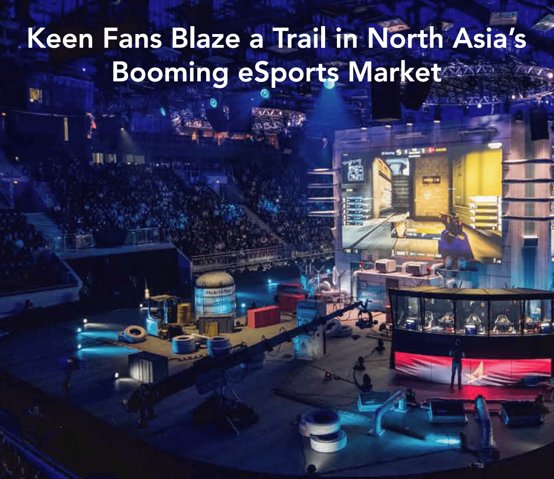Esports market sizing: China, Japan and South Korea report