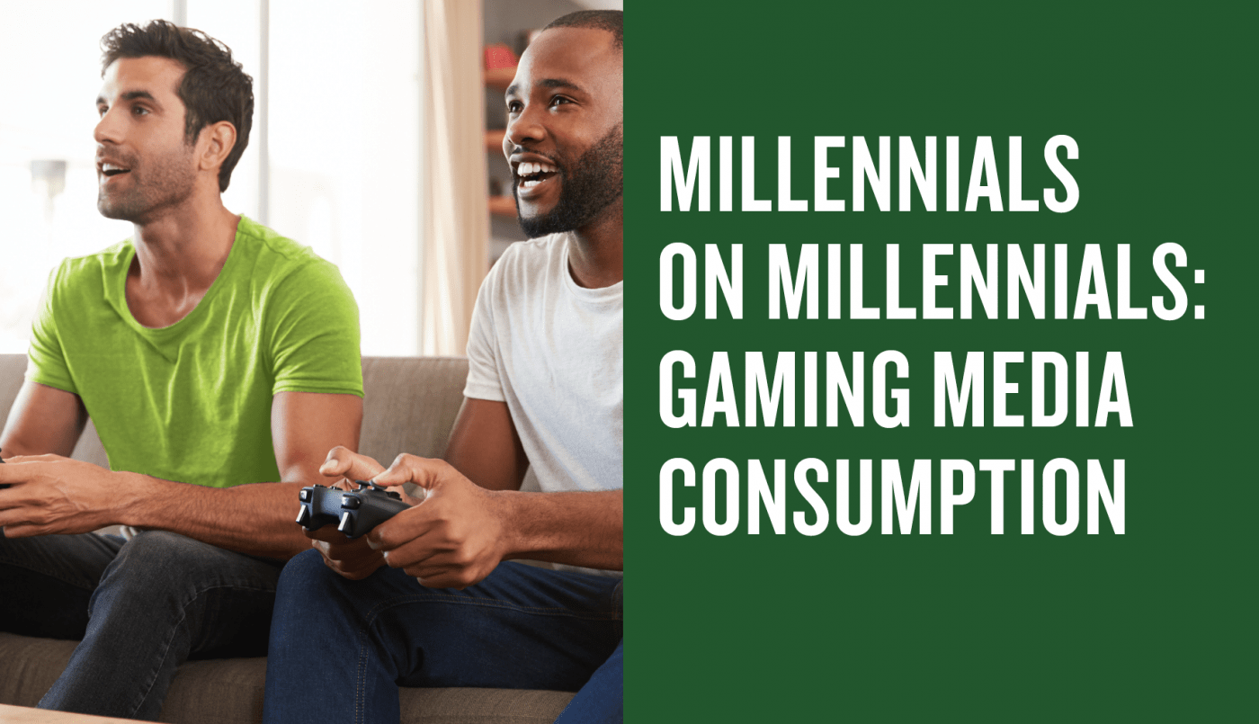 US millennials video gaming media consumption report 2019