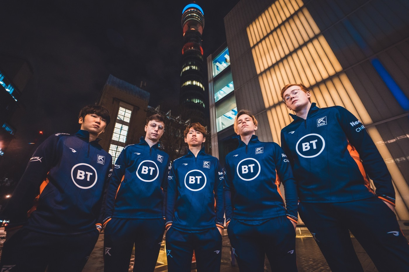 Strive facilitates BT's lead partnership of Excel Esports