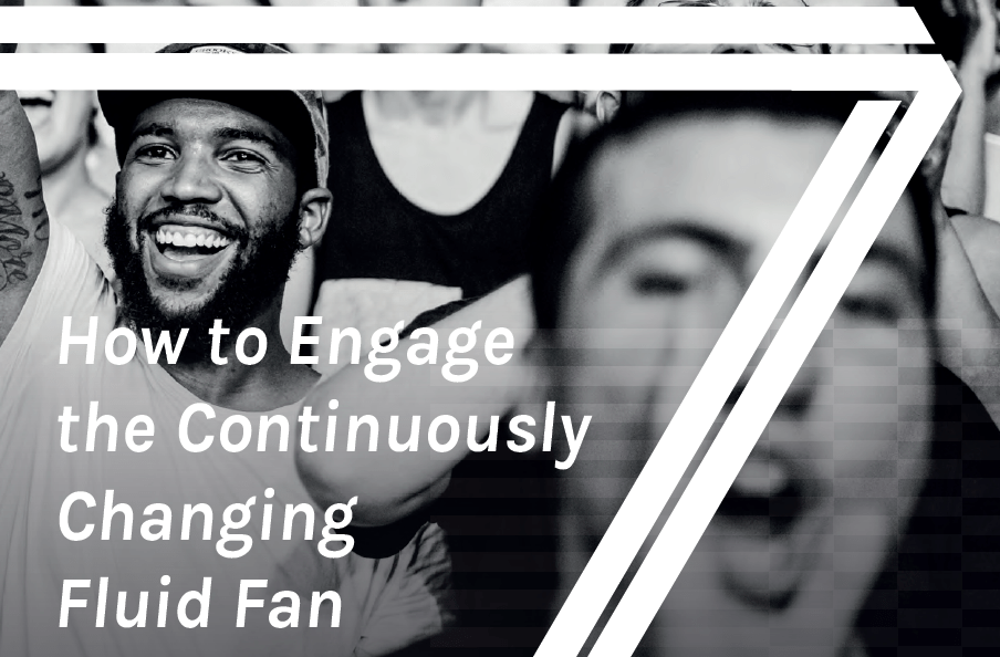 How to engage the continously changing fluid fan