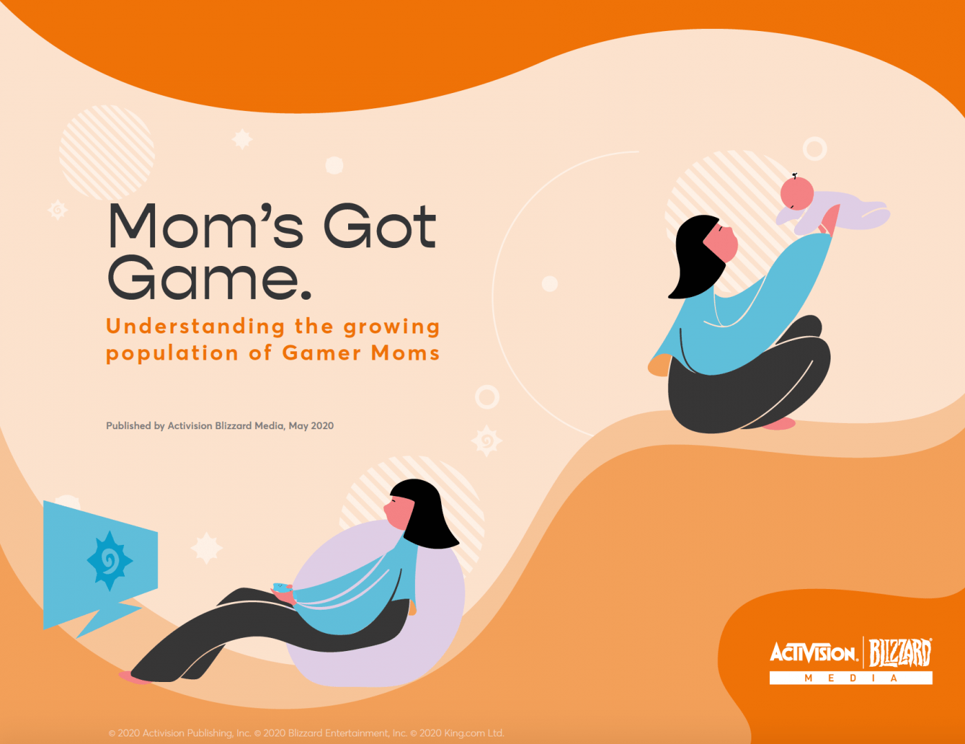 The growing population of gamer mums report