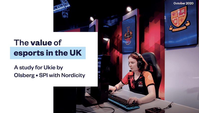 The value of esports in the UK report