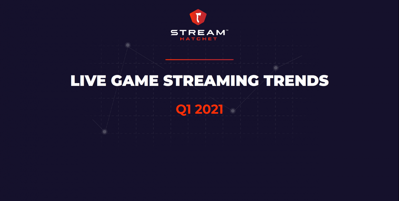 Live video game streaming trends Q1 2021